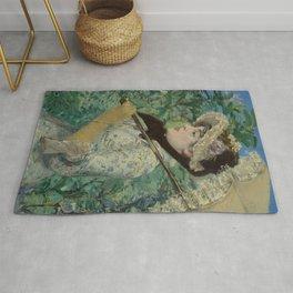 Édouard Manet - Le Printemps (Jeanne Demarsy) Rug