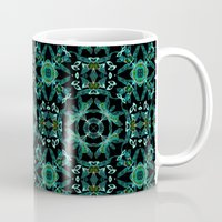 malachite Mugs featuring Malachite fantasy by ESZAdesign™