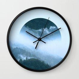 It's Raining Zen Wall Clock