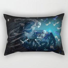 Having a bad time Rectangular Pillow