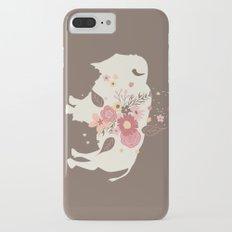 Floral Buffalo iPhone 7 Plus Slim Case