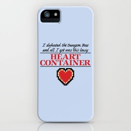 Lousy Heart Container iPhone Case