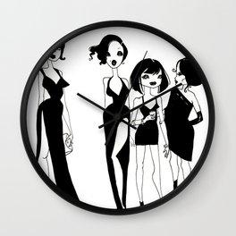 Ladies' Night Wall Clock