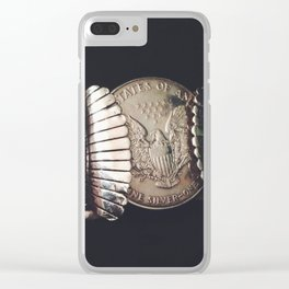 Native American Cuff Clear iPhone Case