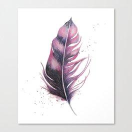 Feathery Canvas Print
