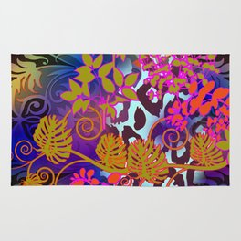 Tropical Lights Orchestra Rug