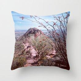 Scenic Camelback Mountain Throw Pillow