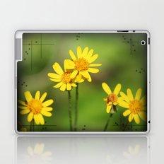 Yellow Flower Dream Laptop & iPad Skin