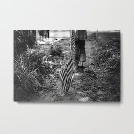 Running into absence Metal Print