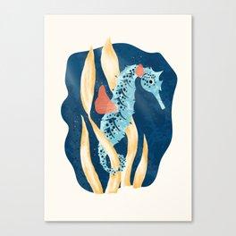 Seahorse Hideout Canvas Print