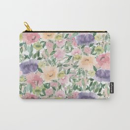 Spring Tapestry Carry-All Pouch
