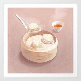 Bao Art Print