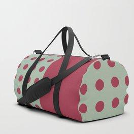 """Pink and Aquamarine Pastel Pattern, Marilyn"" Duffle Bag"