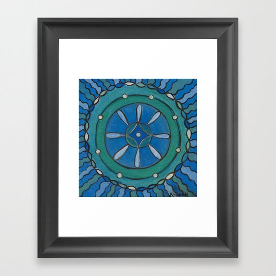 Connected in Truth Framed Art Print