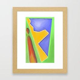 Island Mentality Framed Art Print