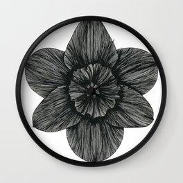 Daffodil Birth Flower Wall Clock