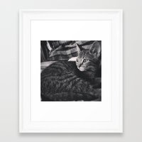 brave Framed Art Prints featuring Brave by ADH Graphic Design