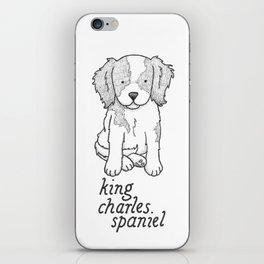 Cavalier King Charles Spaniel iPhone Skin