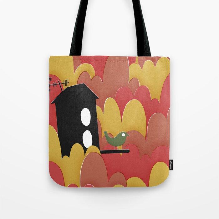 Birdhouse n.2 Tote Bag