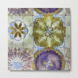 Unoiled Vulnerable Flower  ID:16165-055943-96401 Metal Print