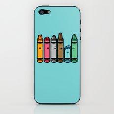 Overused iPhone & iPod Skin