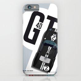 GT40 LM Winner 1966 iPhone Case