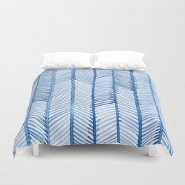 Blue Quills Duvet Cover