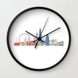 London Wall Clock