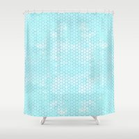geometry Shower Curtains featuring Geometry by 83 Oranges™