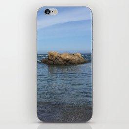 Fort Bragg ocean with rocks iPhone Skin