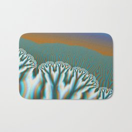 Fractal Forest Abstract Art Bath Mat