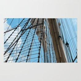 A mast of frigate Rug
