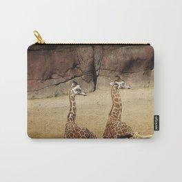 Having a Giraffe Carry-All Pouch