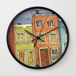 Old City Wall Clock