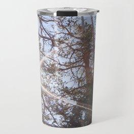Mountainside Jeffrey Pine Trees (Lower Echo Lake, California) Travel Mug