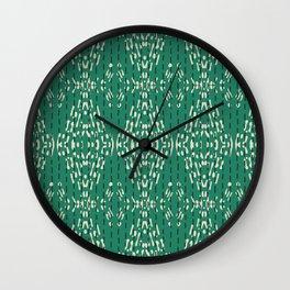 ZOLA KANTHA GREEN Wall Clock