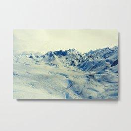 Glaciar Perito Moreno.  Metal Print