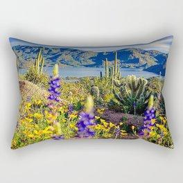 Bartlett Lake, Arizona Rectangular Pillow