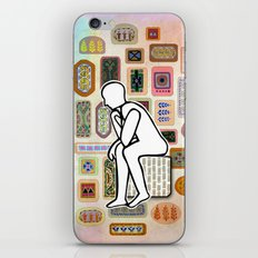 Thinking Man iPhone & iPod Skin