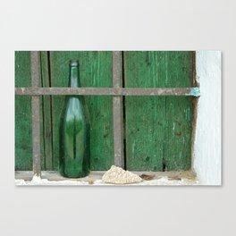 Empty Bottle Canvas Print