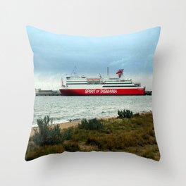 Spirit of Tasmania Throw Pillow