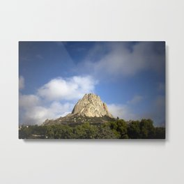 Bernal Rocky Mountain Metal Print