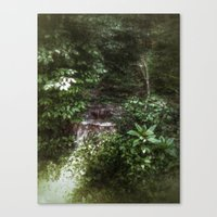 woodland Canvas Prints featuring Woodland by Geni