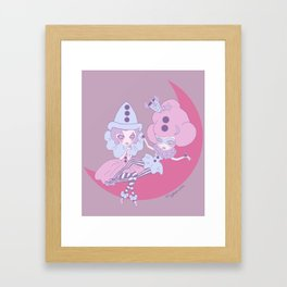 Petite Pierettes Framed Art Print
