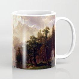 Albert Bierstadt - Among the Sierra Nevada, California Coffee Mug