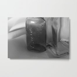 Dark and Clear Metal Print