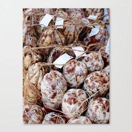 Italian sausages Canvas Print