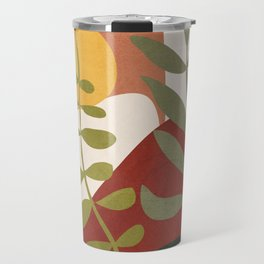 Two Abstract Branches Travel Mug