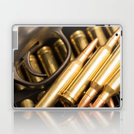Rifle Trigger and Bullets Laptop & iPad Skin