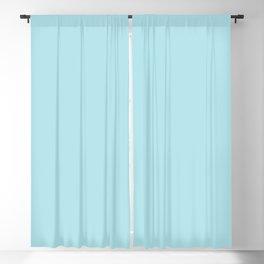 Seafoam Blue Linen Blackout Curtain